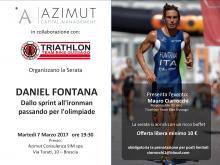 Daniel Fontana Ospite al DTTRI per il Triathlon Team Bike Gussago di Brescia